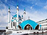 Kul Sharif Mosque in Kazan Kremlin, Tatarstan, Russia