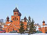 Pokrovskiy Cathedral in Kazan, Tatarstan, Russia