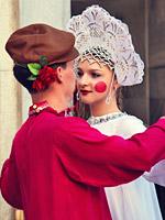 Танцы и пляски на Масленицу, Россия