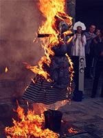 Сожжение чучела Масленицы, Россия