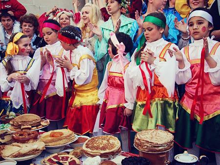 جشن های روسیه