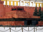 Lenin's mausoleum on Red Square, Moscow