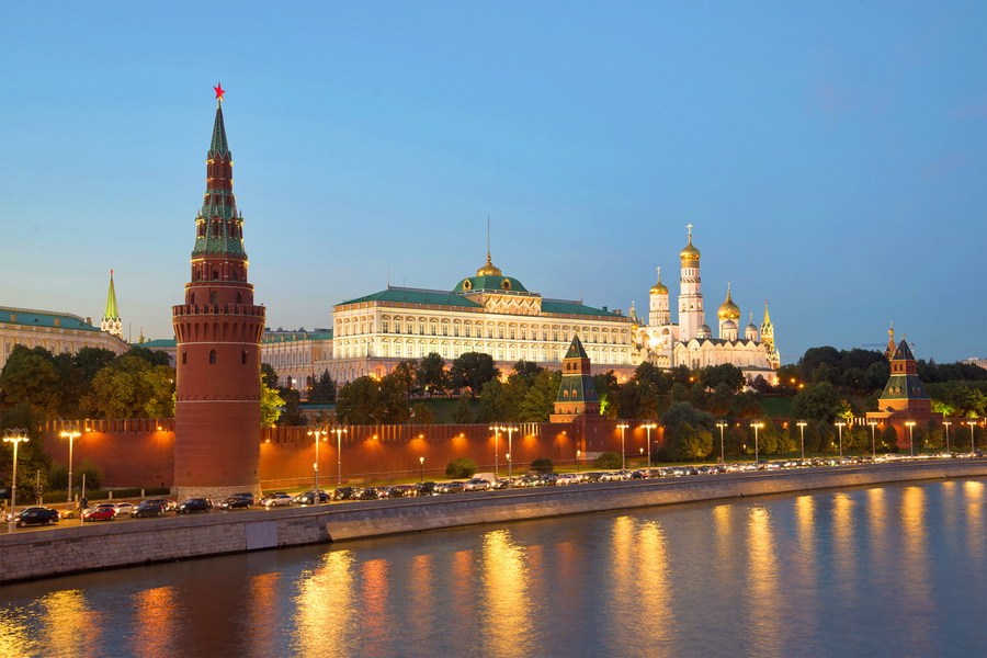 Le Kremlin - Moscou, la Russie
