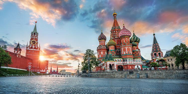 moscow red square1 - 5 городов, которые вы Обязаны посетить в РФ.