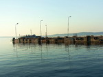 Pier on Lake Onega, Petrozavodsk