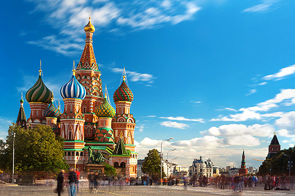 St  Basil's Cathedral - one of the most famous symbols of