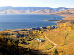 Sludyanka - a city located along the Trans-Siberian Railway