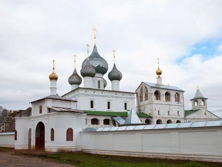 Uglich Landmarks Millennial City On The Volga