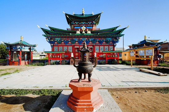 Ulan-Ude - the historic city of Russia