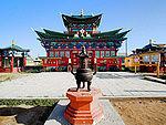 Buddhist datsan
