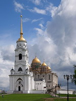 Majestic Assumption Cathedral in Vladimir