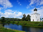 Monuments of Vladimir - The Church of the Intercession on the Nerl